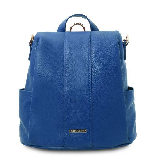 TL Bag Zaino in pelle morbida Blu TL142138