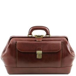 Bernini Exclusive leather doctor bag Brown TL142089