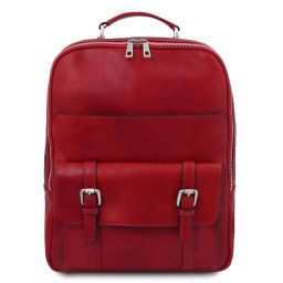 Nagoya Zaino porta notebook in pelle Rosso TL142137
