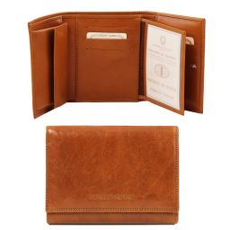 Exclusive leather wallet for women Honey TL140790