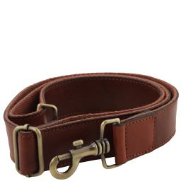 Регулируемый кожаный ремень на плечо для портфелей Коричневый TL141854