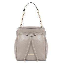 TL Bag Soft leather bucket bag Серый TL142134