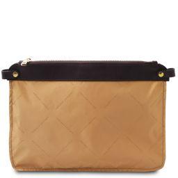 TL Smart Module Soft leather pocket module for women bags Beige TL141569