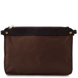 TL Smart Module Soft leather pocket module for women bags Brown TL141569