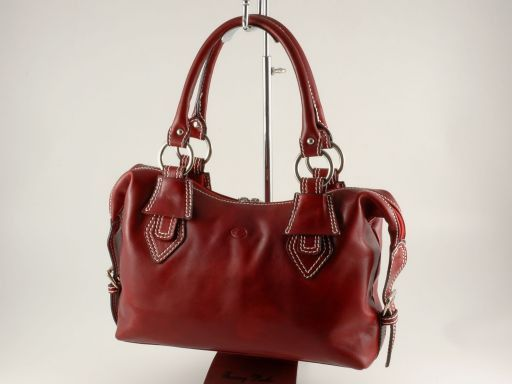 Anastasia Lady leather bag Red TL140440