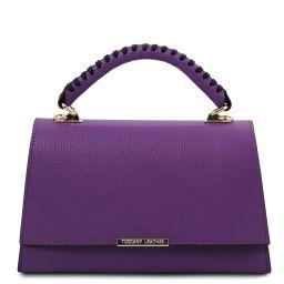 TL Bag Handtasche aus Leder Purple TL142111