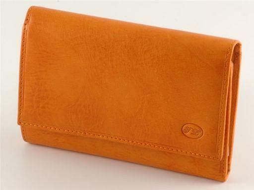 Portafogli in pelle donna Arancio TL140450