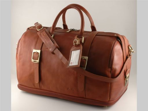 Istanbul Travel leather bag Brown FC140487