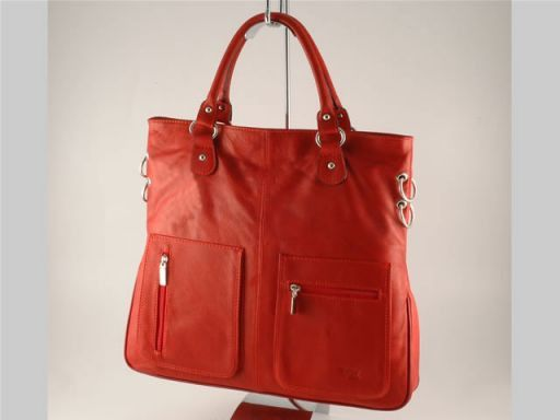 Camilla Lady leather bag Красный TL140491