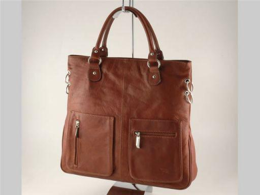 Camilla Lady leather bag Коричневый TL140491